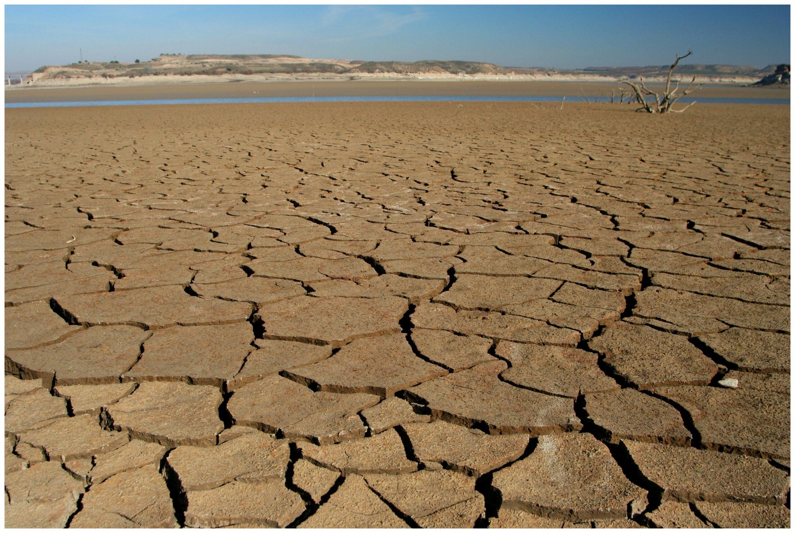 Región con afectación grave por sequía.